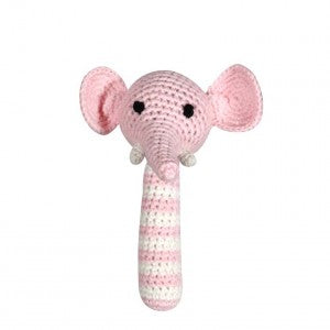 "6"" Elephant Rattle Toys & Gifts Zubels - Oma's Classic Children's Clothing"