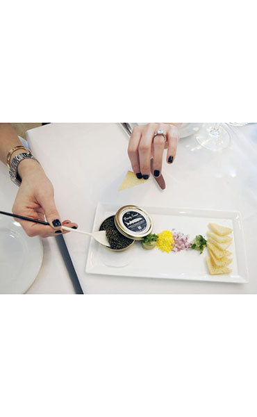 Premium White Sturgeon Caviar 100g | Aged 90+ Days
