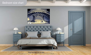 New Orleans B&W Photography Metal Print Wall Art Picture Home Decor Poster Landmark Bedroom Livingroom