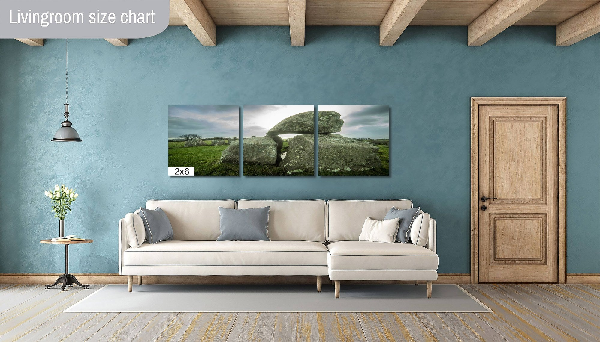 Carrowmore County Sligo Ireland Megalith Skyline Canvas Photography Metal Print Wall Art Picture Home Decor Poster Landmark Bedroom