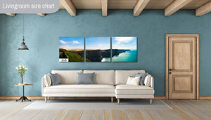 Cliffs of Moher County Clare Ireland Canvas Print Metal Art Cityscape Landmark Bedroom Livingroom wall art decor