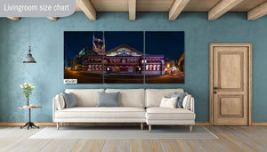 The Ryman Auditorium Photography Metal Print Wall Art Picture Home Decor Poster Landmark Bedroom Livingroom
