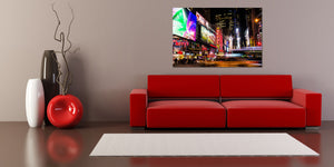 Broadway Manhattan New York City Photograph Midtown Canvas Print Metal Art Cityscape Landmark Bedroom Livingroom wall art decor home poster