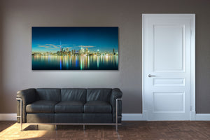 Toronto Downtown Skyline Skyscraper Canvas Photography Metal Print Wall Art Picture Home Decor Poster Landmark Bedroom Livingroom