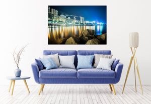 Monte Carlo Monaco Downtown Port Canvas Photography Metal Print Wall Art Picture Home Decor Poster Landmark