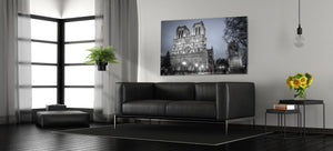 Notre-Dame Cathedral Church Paris France  Canvas Photography Metal Print Wall Art Picture Home Decor Poster Bedroom Landmark