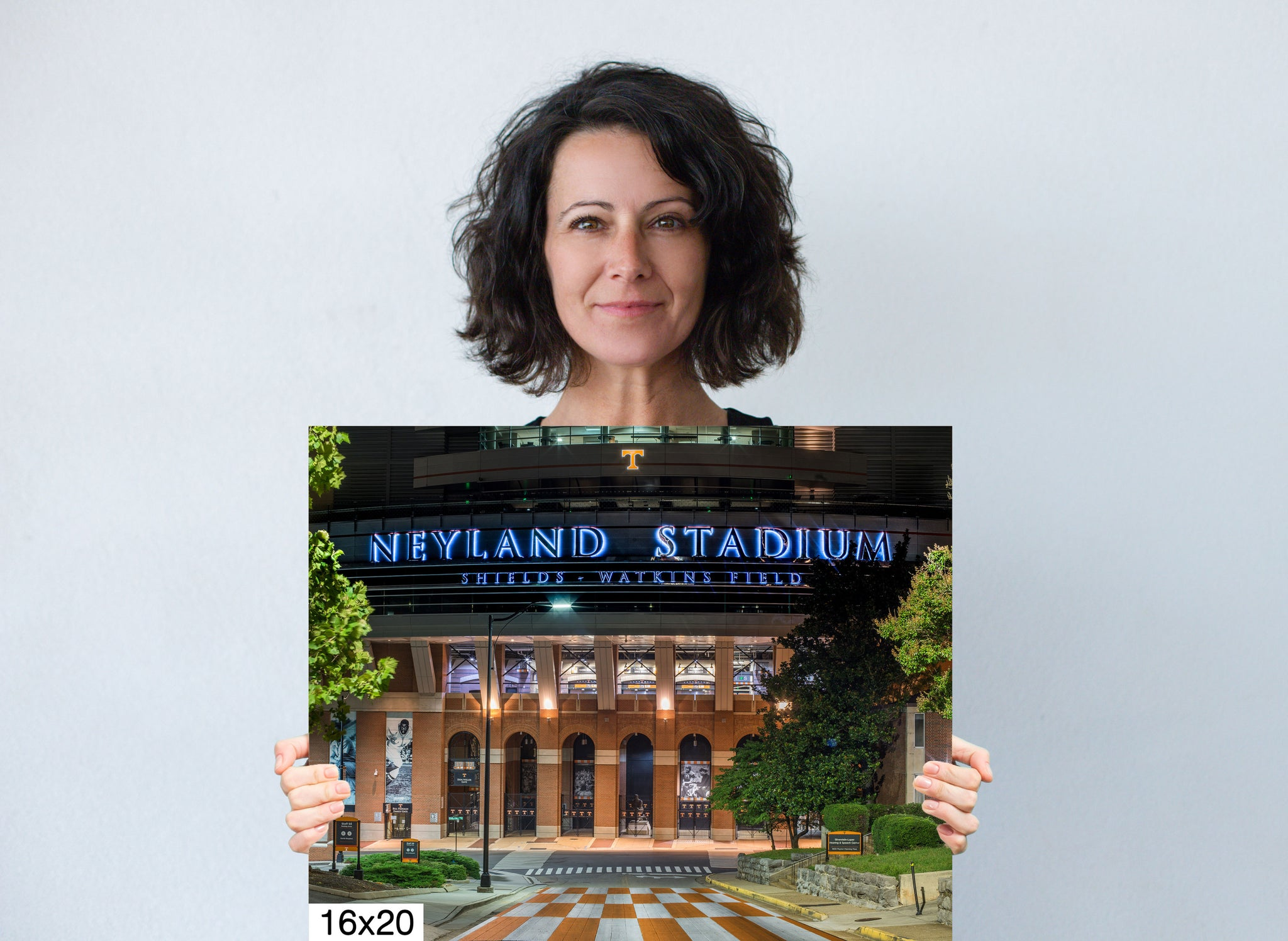 Neyland Stadium Knoxville City Photography Metal Print Wall Art Picture Home Decor Poster Landmark Bedroom Livingroom