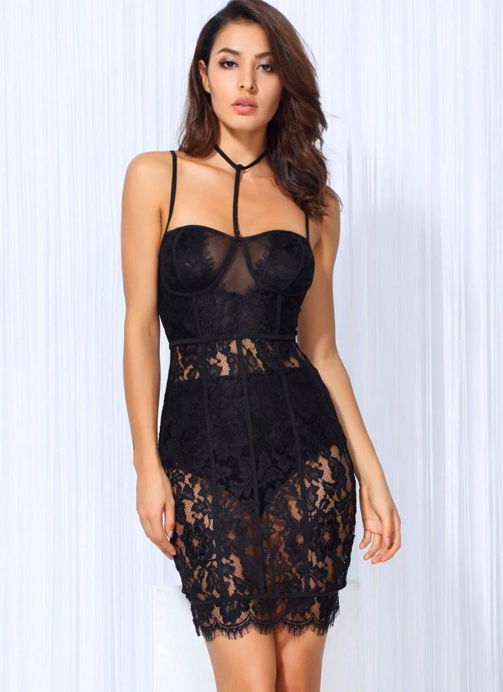 Lida Lace Bodycon Dress - Posh Fashion Girls
