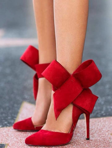 Fly To The Moon Shoes-Red - Posh Fashion Girls