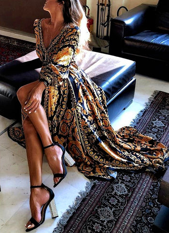 Cleopatra Lux Dress - Posh Fashion Girls