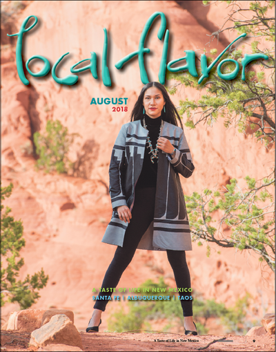 "Singular Couture featured in Santa Fe's ""Local Flavor"" Magazine"