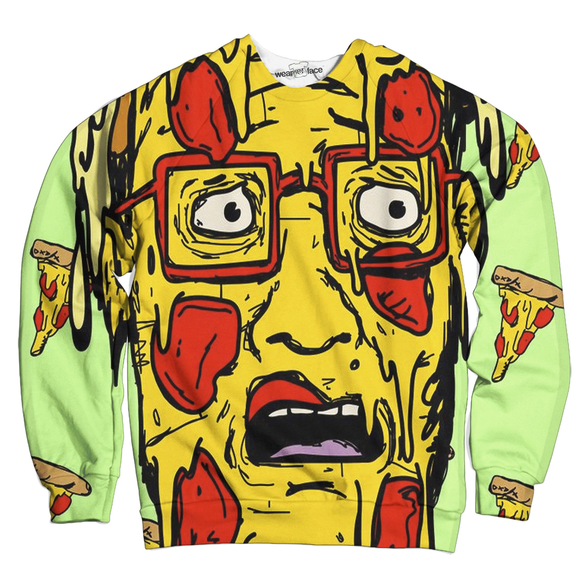 Stuffed Crust Hank Hill Sweatshirt