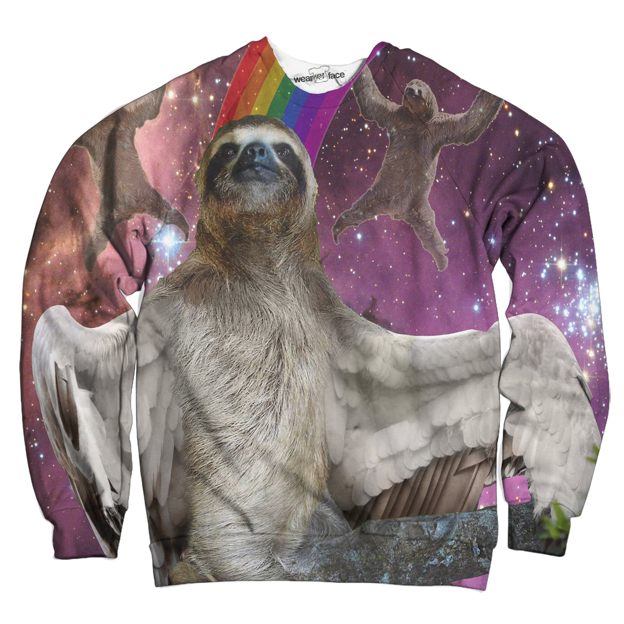 Sloths Can Fly Sweatshirt