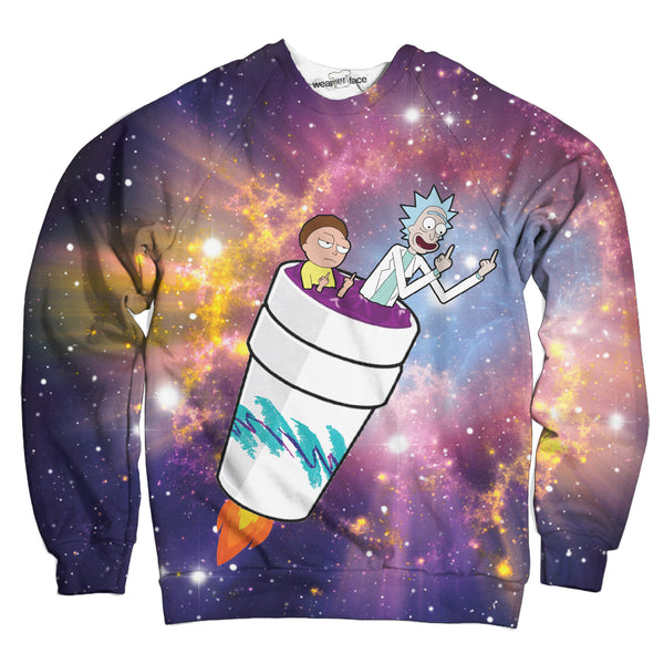 Rick and Morty Take Off Sweatshirt