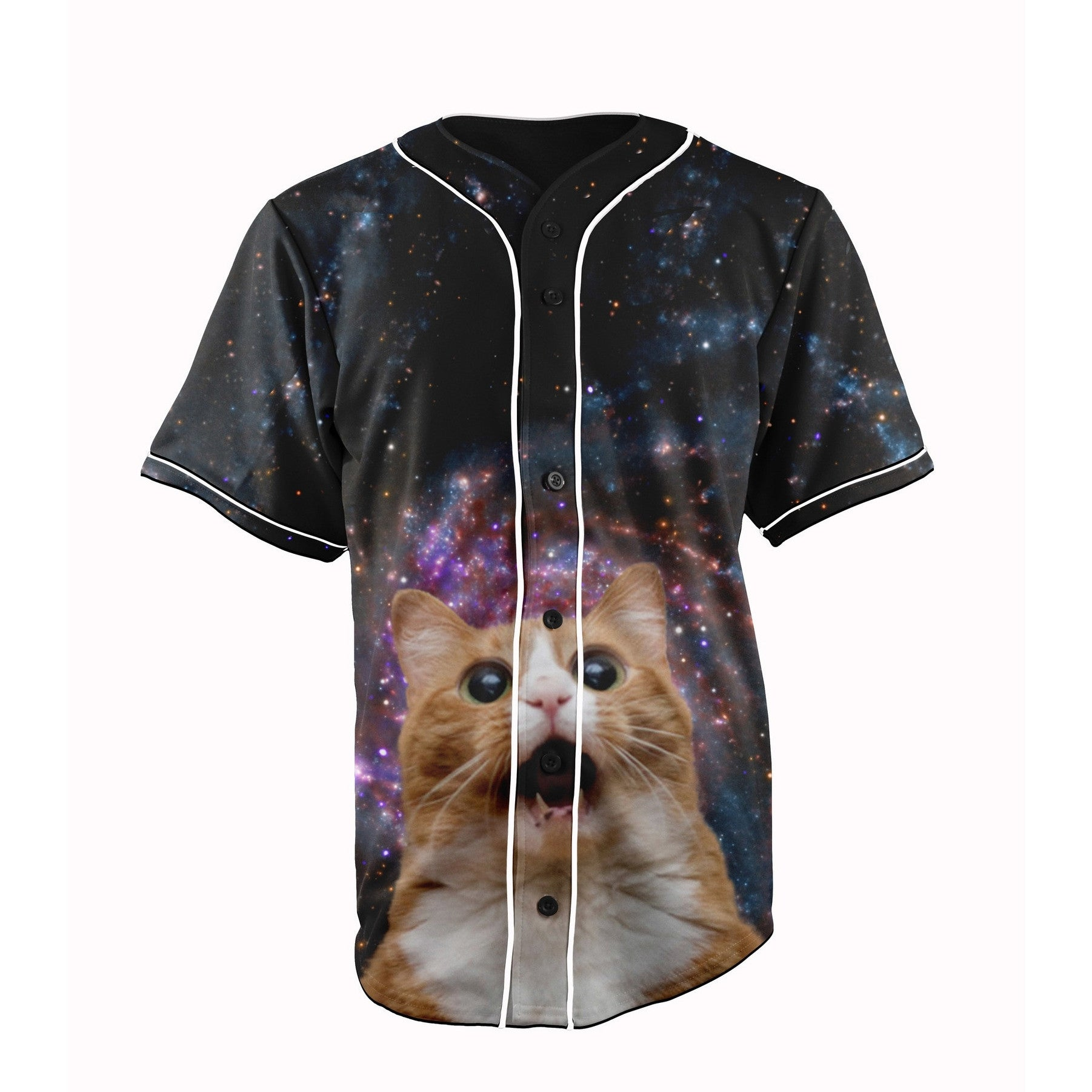 Surprised Space Cat jersey
