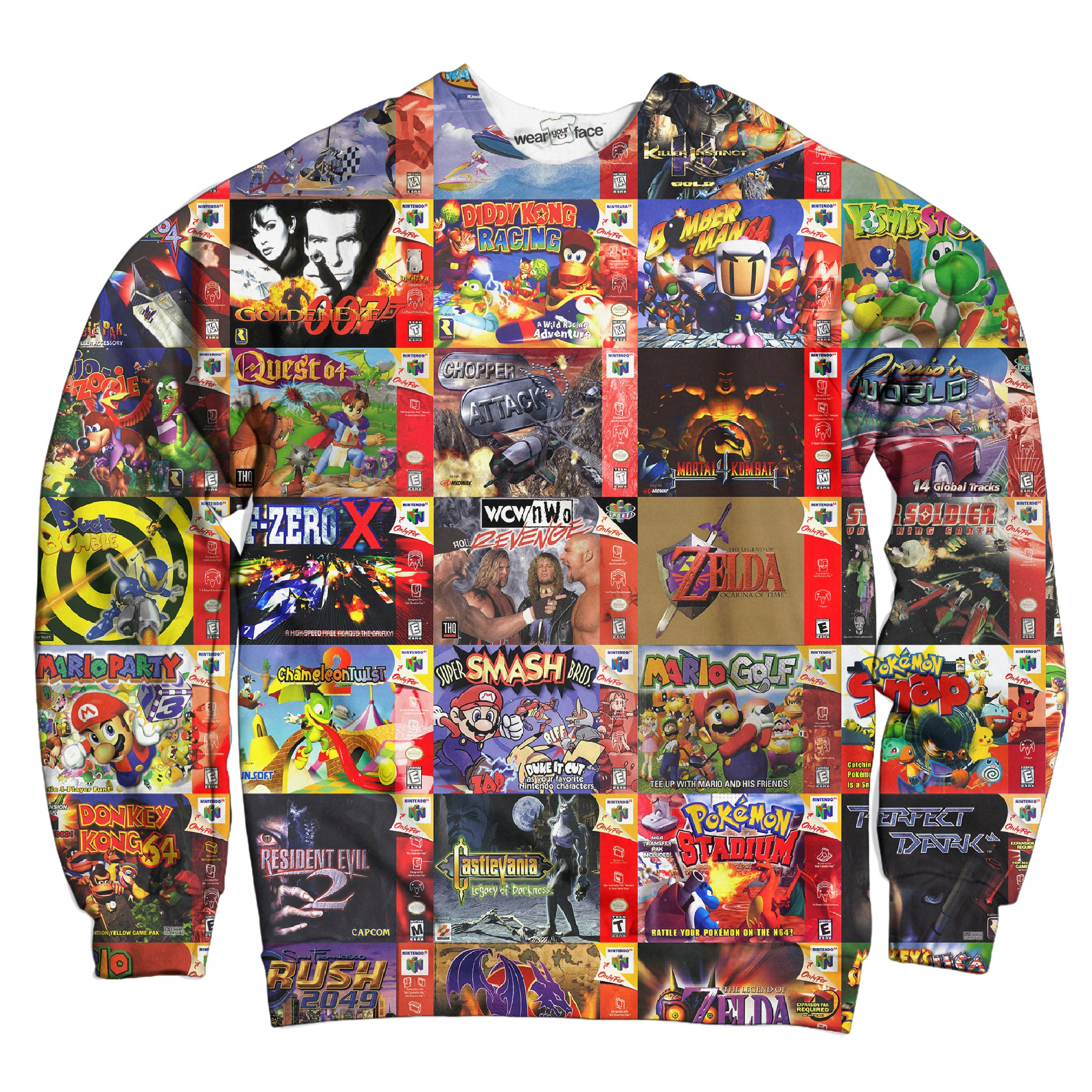 N64 Galore Sweatshirt