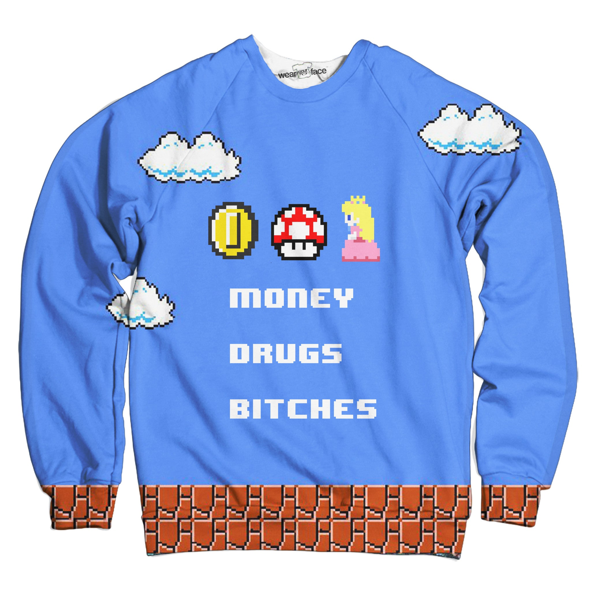 Bad Mario Sweatshirt