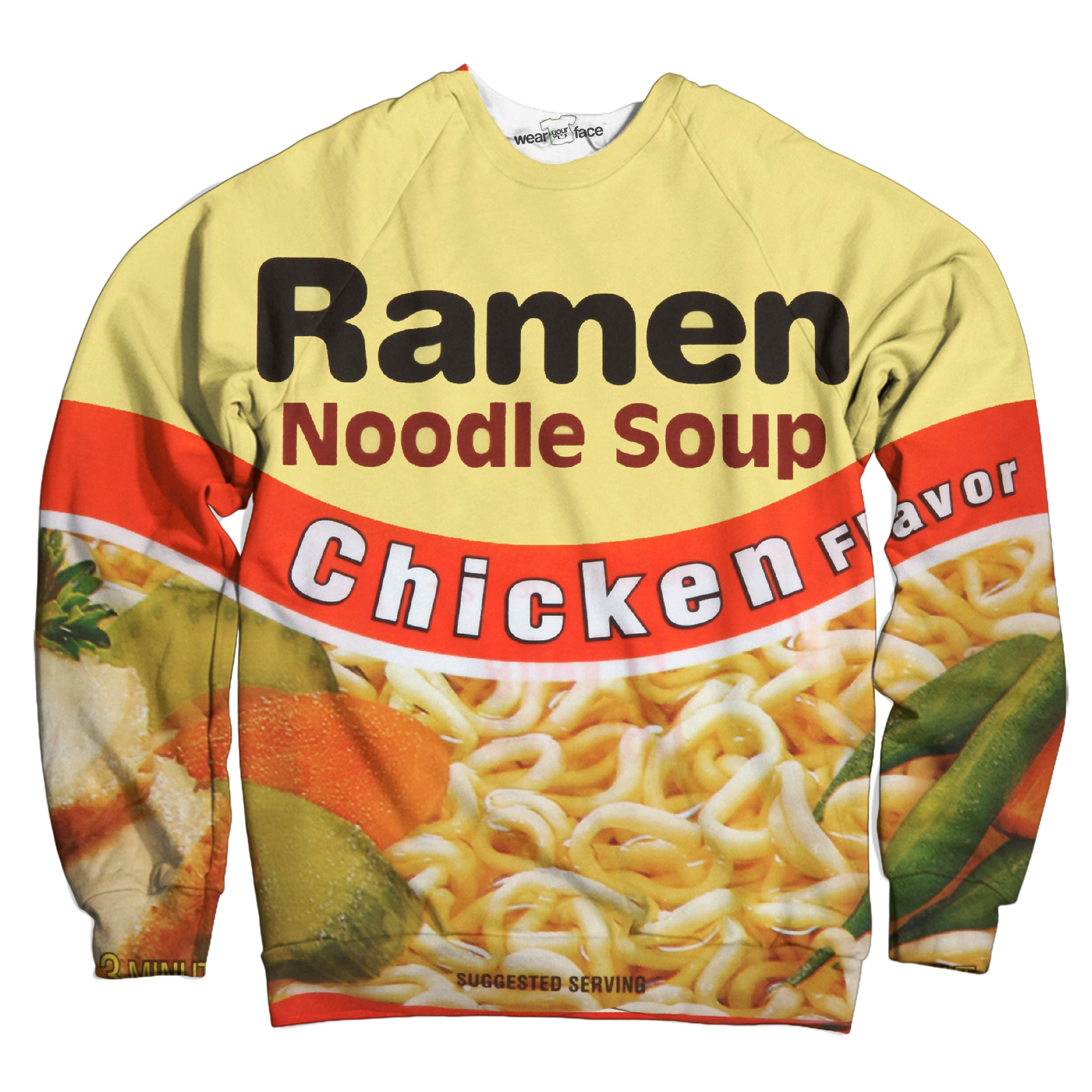 Top Ramen Chicken Sweatshirt