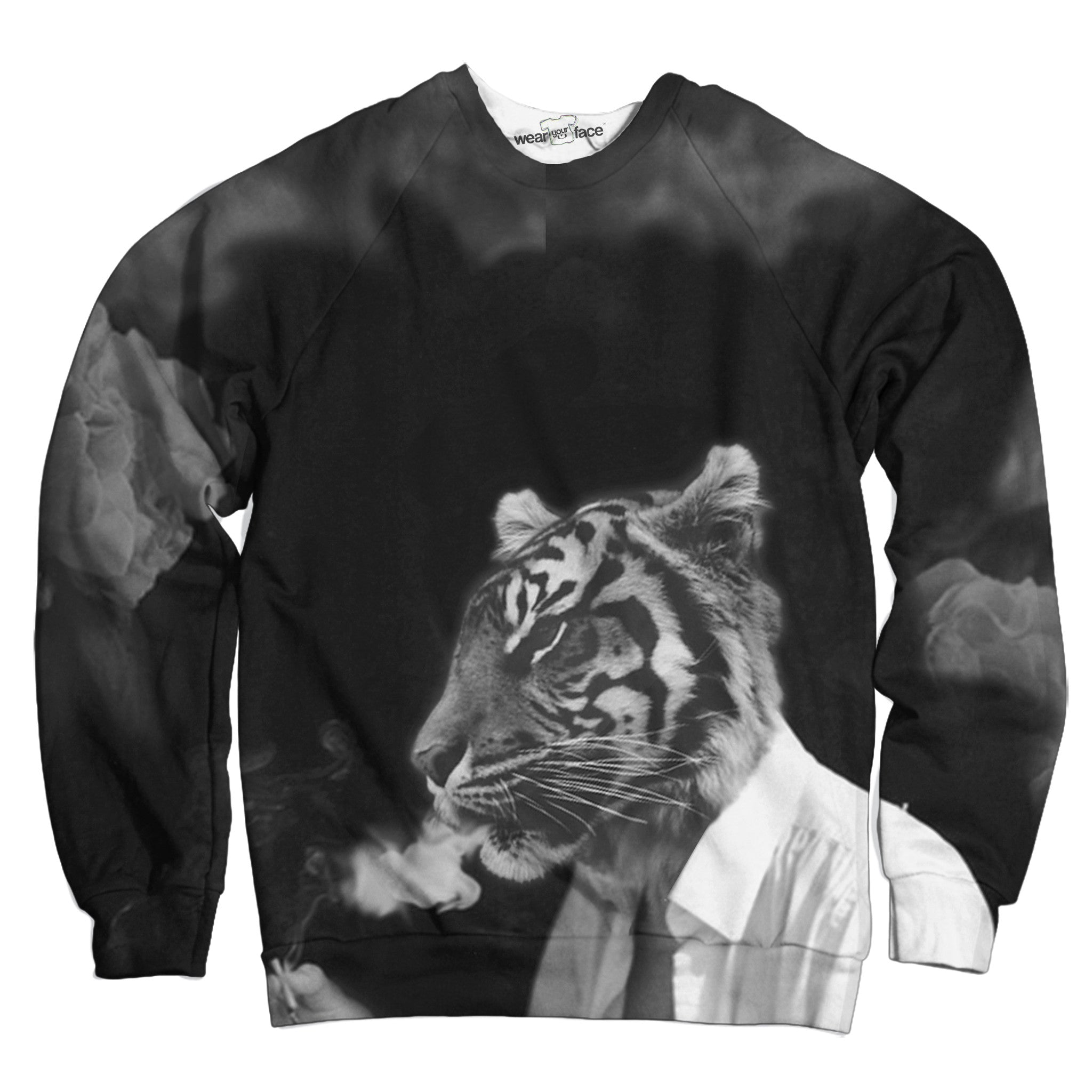 Smoking Tiger Sweatshirt
