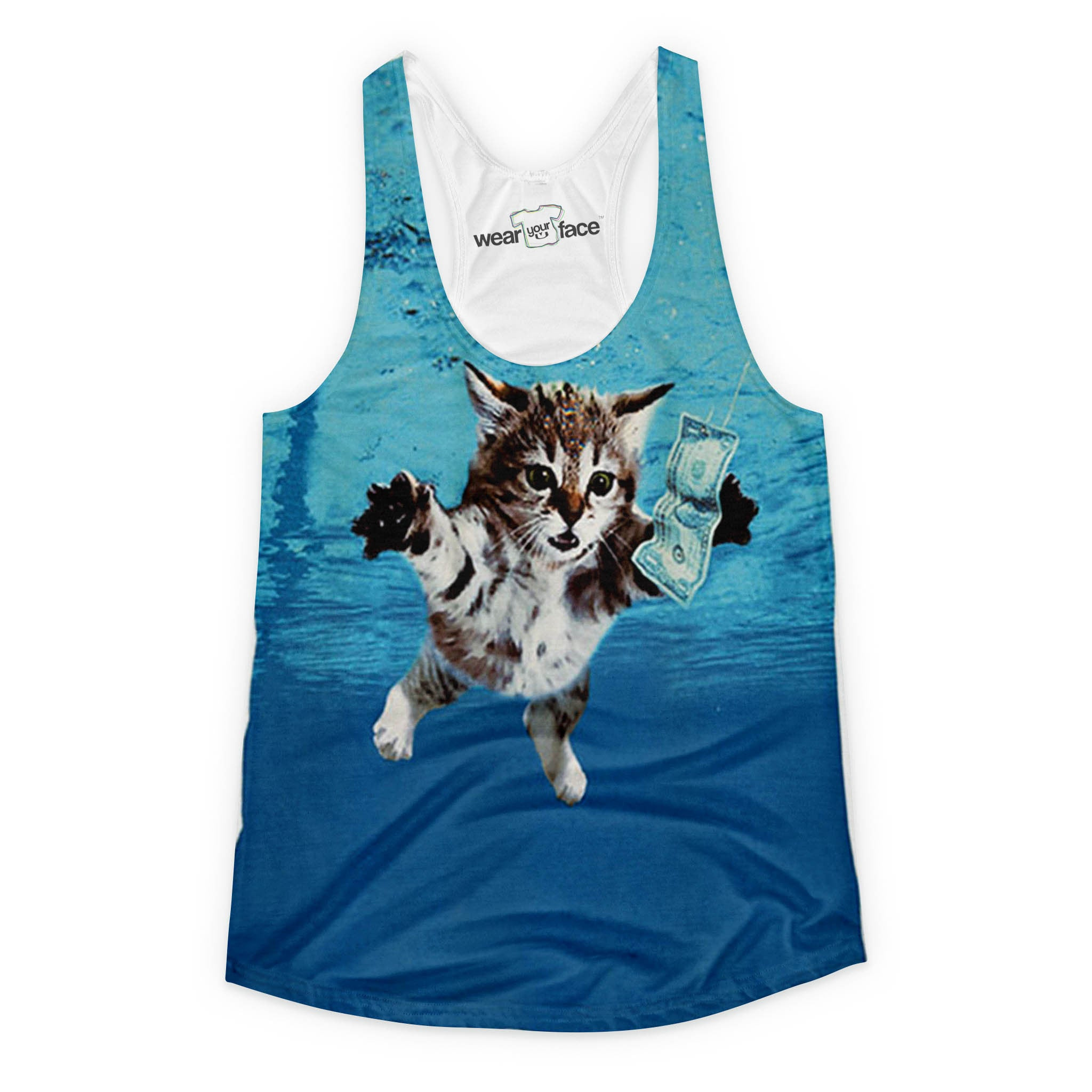 Nirvana Kitten Girls Tank