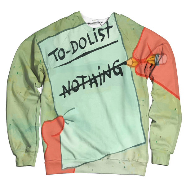 To Do List Sweatshirt