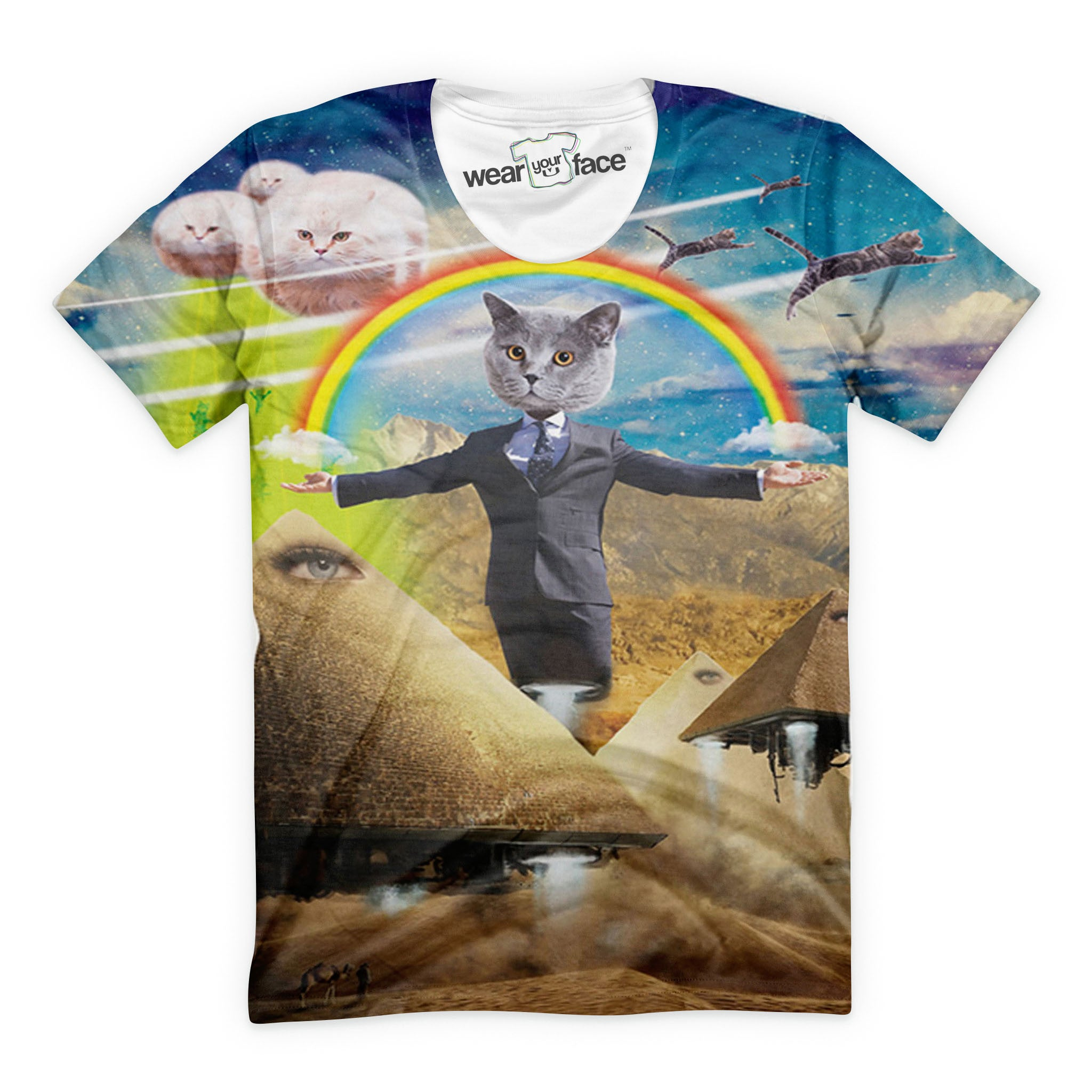 Pawtician Cat T-Shirt