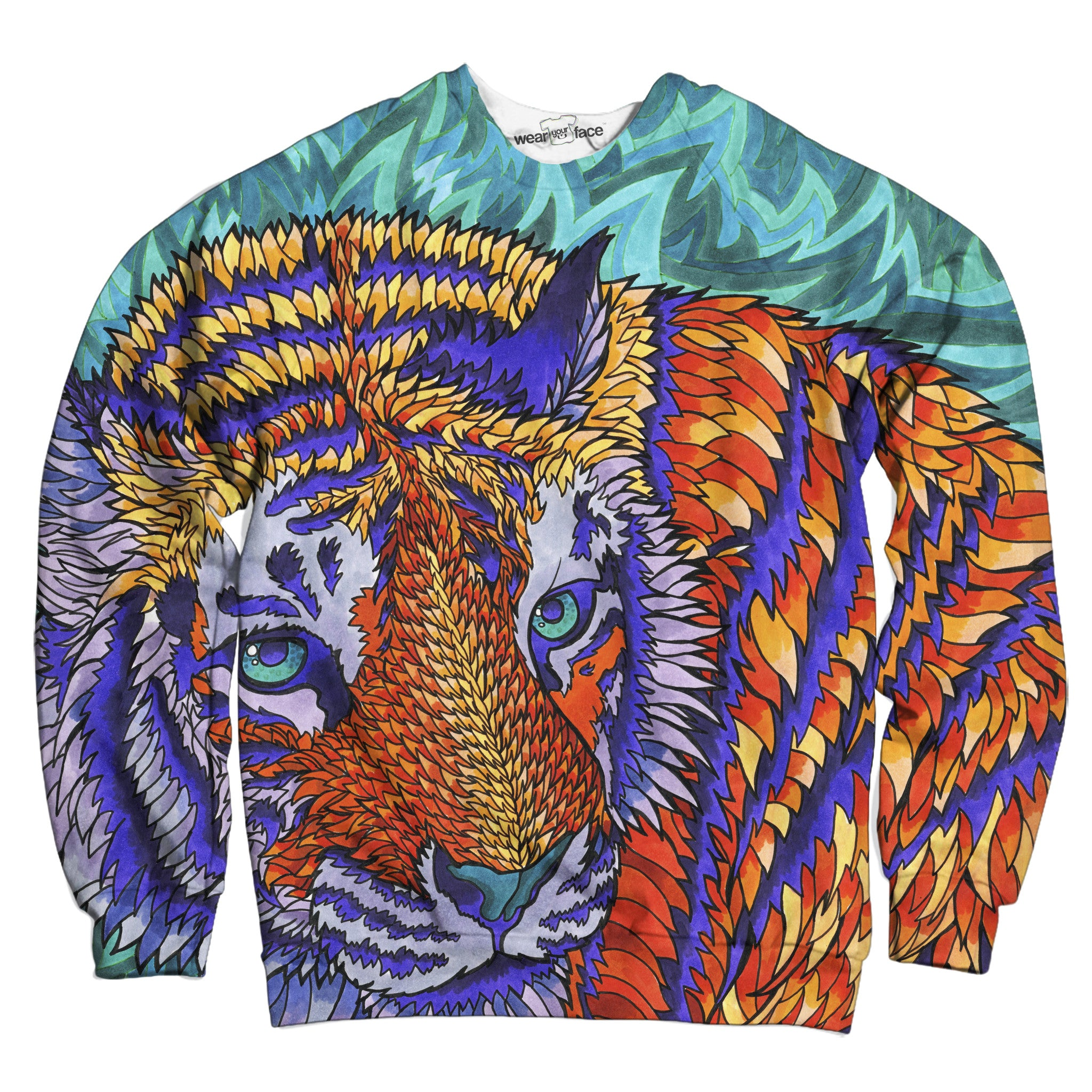 Trippy Tiger Sweatshirt