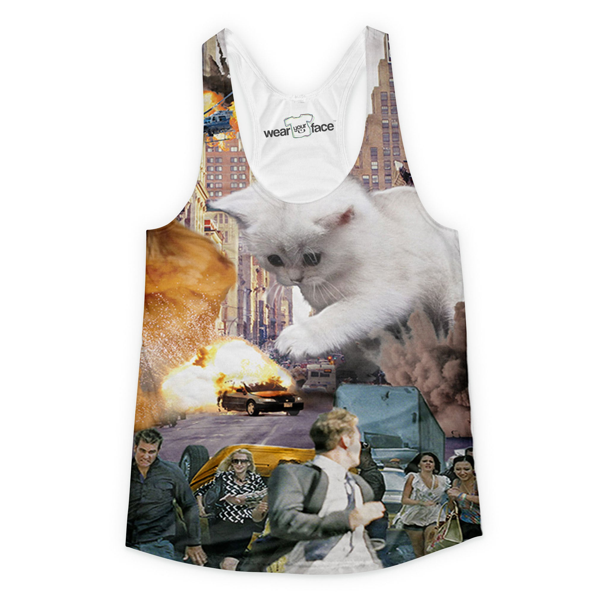 Pawzilla Girls Tank