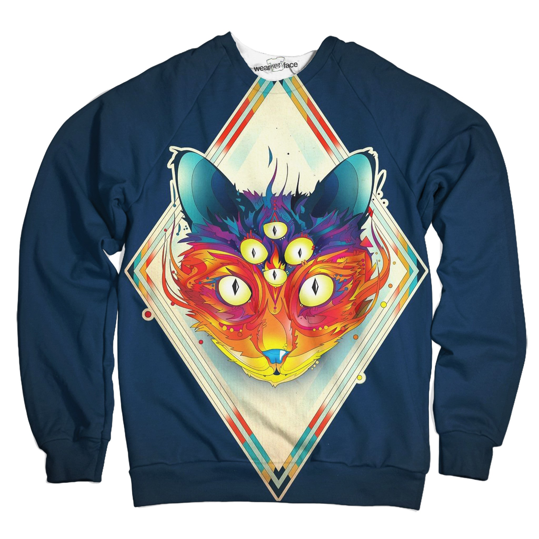 Wondrous Cat Sweatshirt