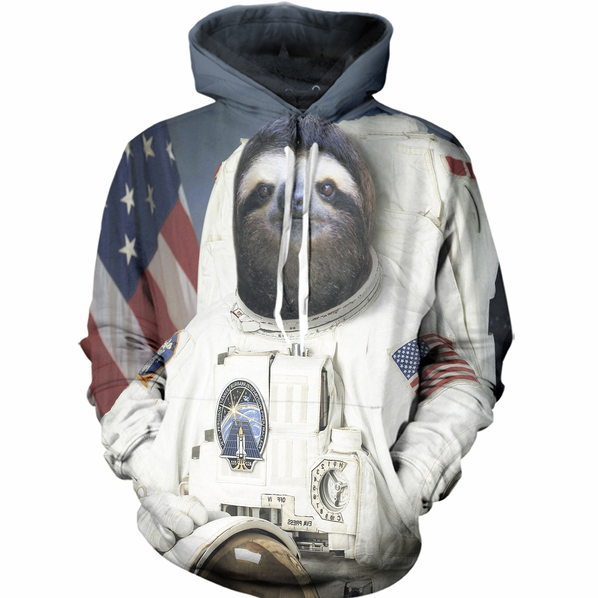 The Sloth Astronaut Mission Hoodie