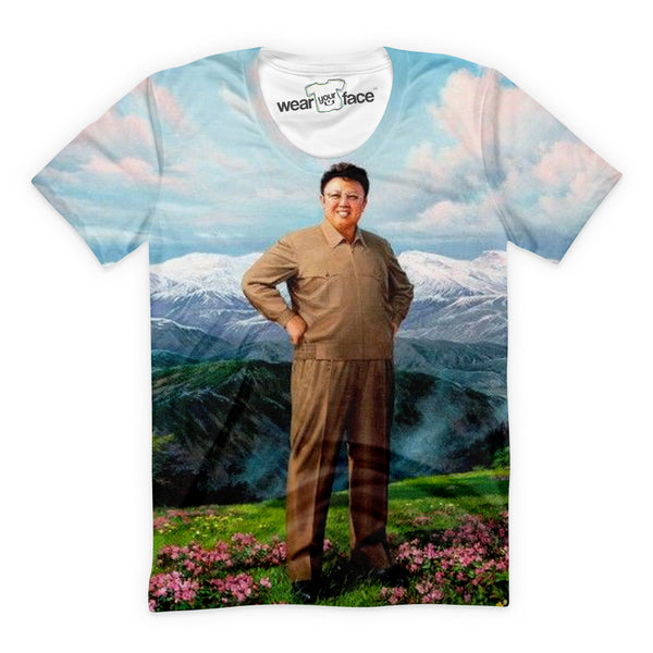 Kim Jong Il Dear Leader T-Shirt