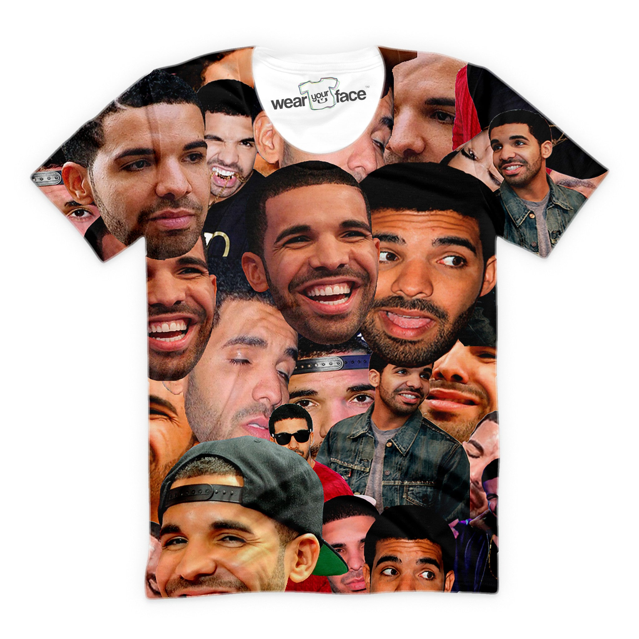 Drake Collage T-Shirt
