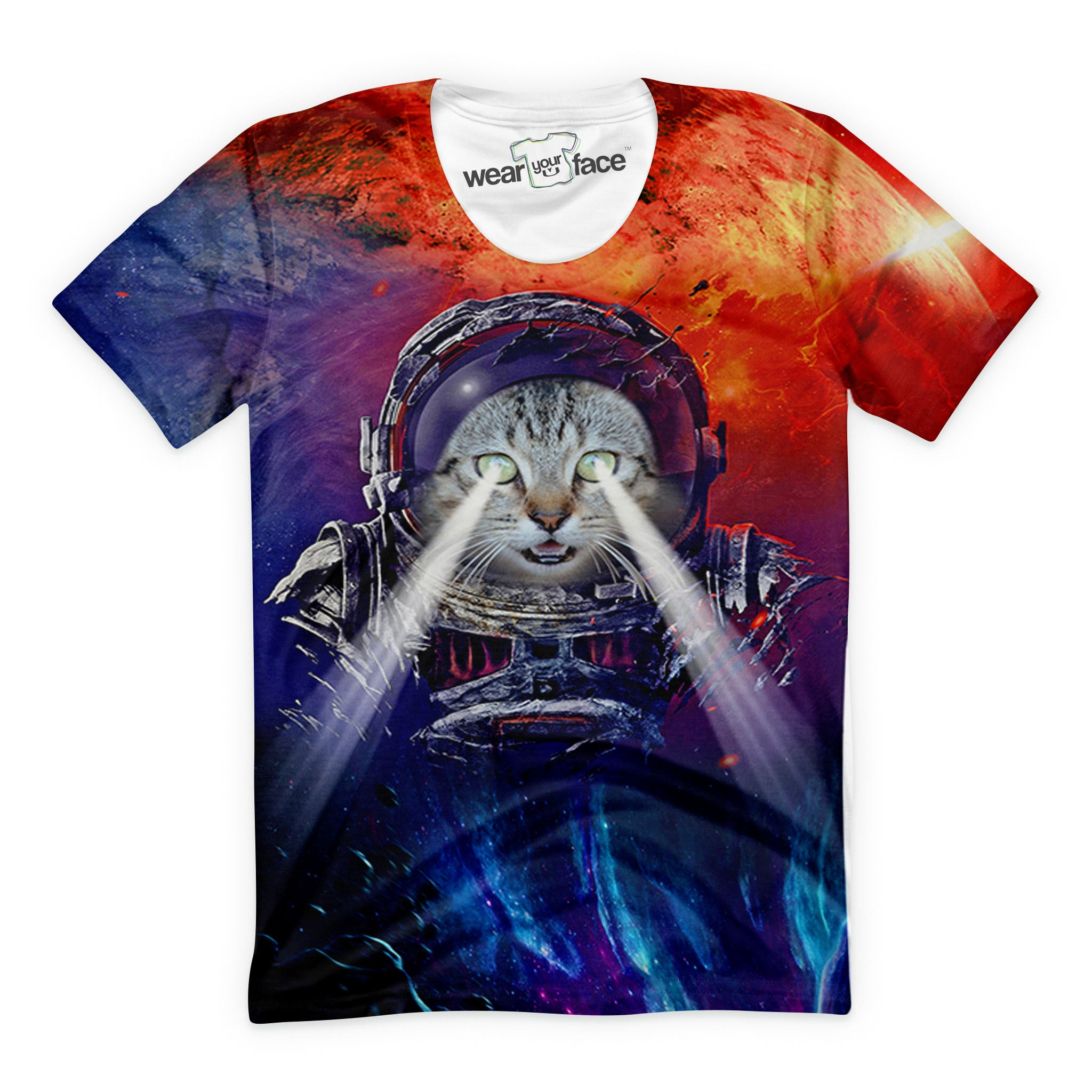 The Mars Expedition Cat T-Shirt