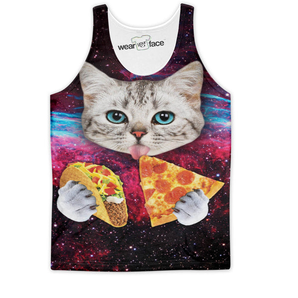 Taco Pizza Combo Cat Tank