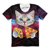 Taco Pizza Combo Cat T-Shirt