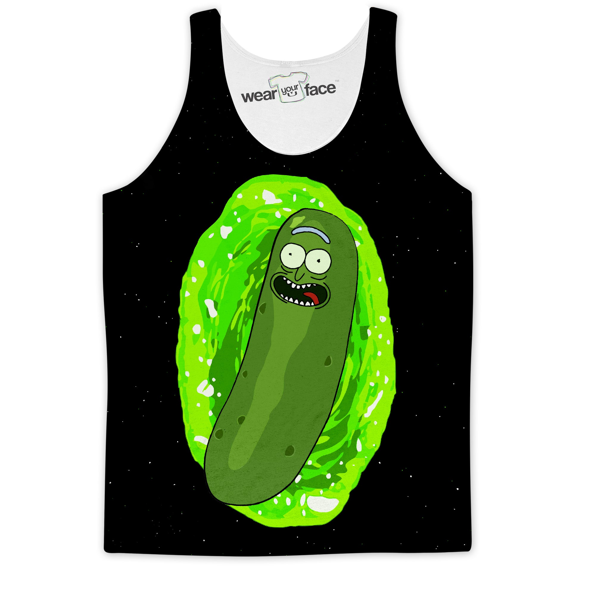 Pickle Rick Vortex Tank