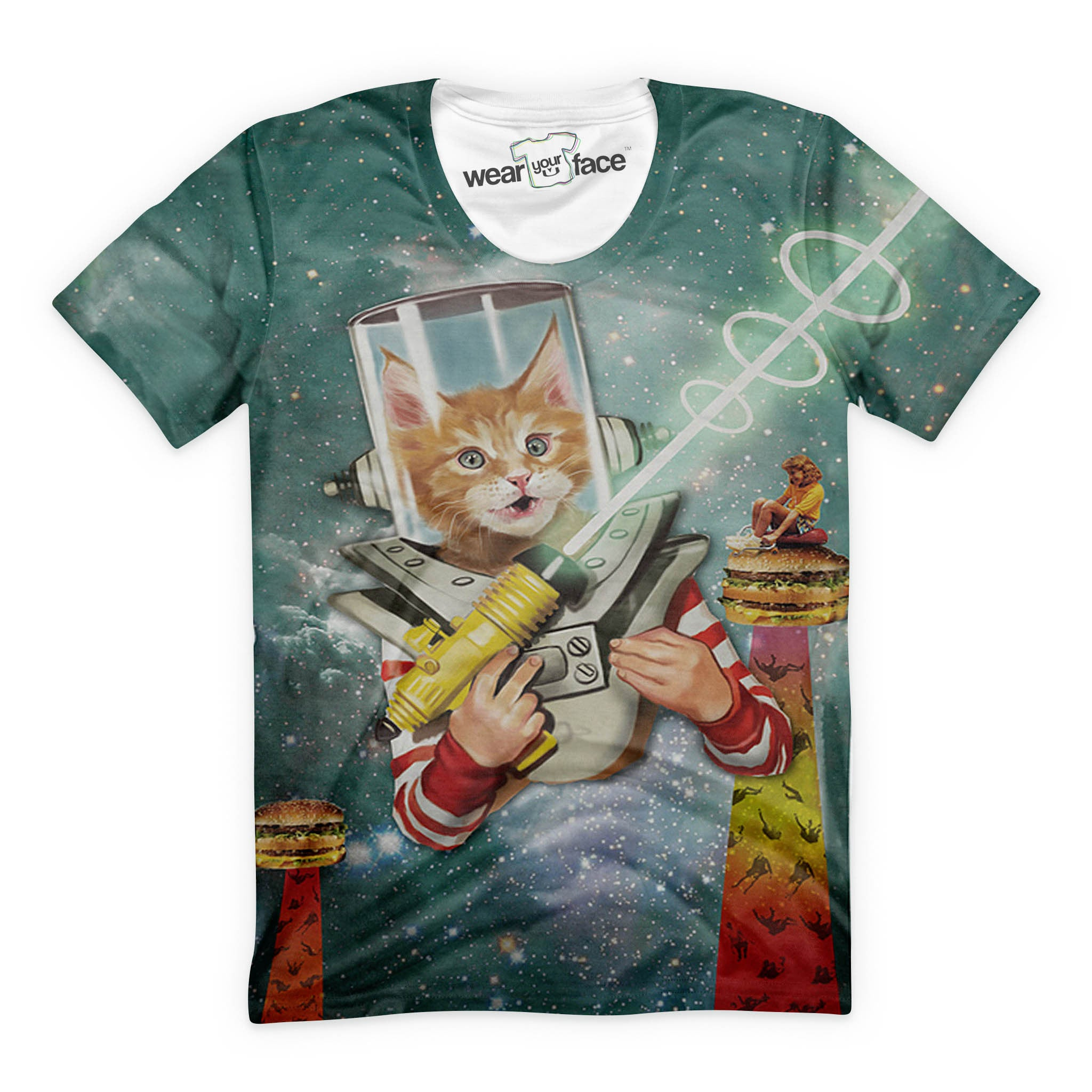 Captain Laser Beam T-Shirt
