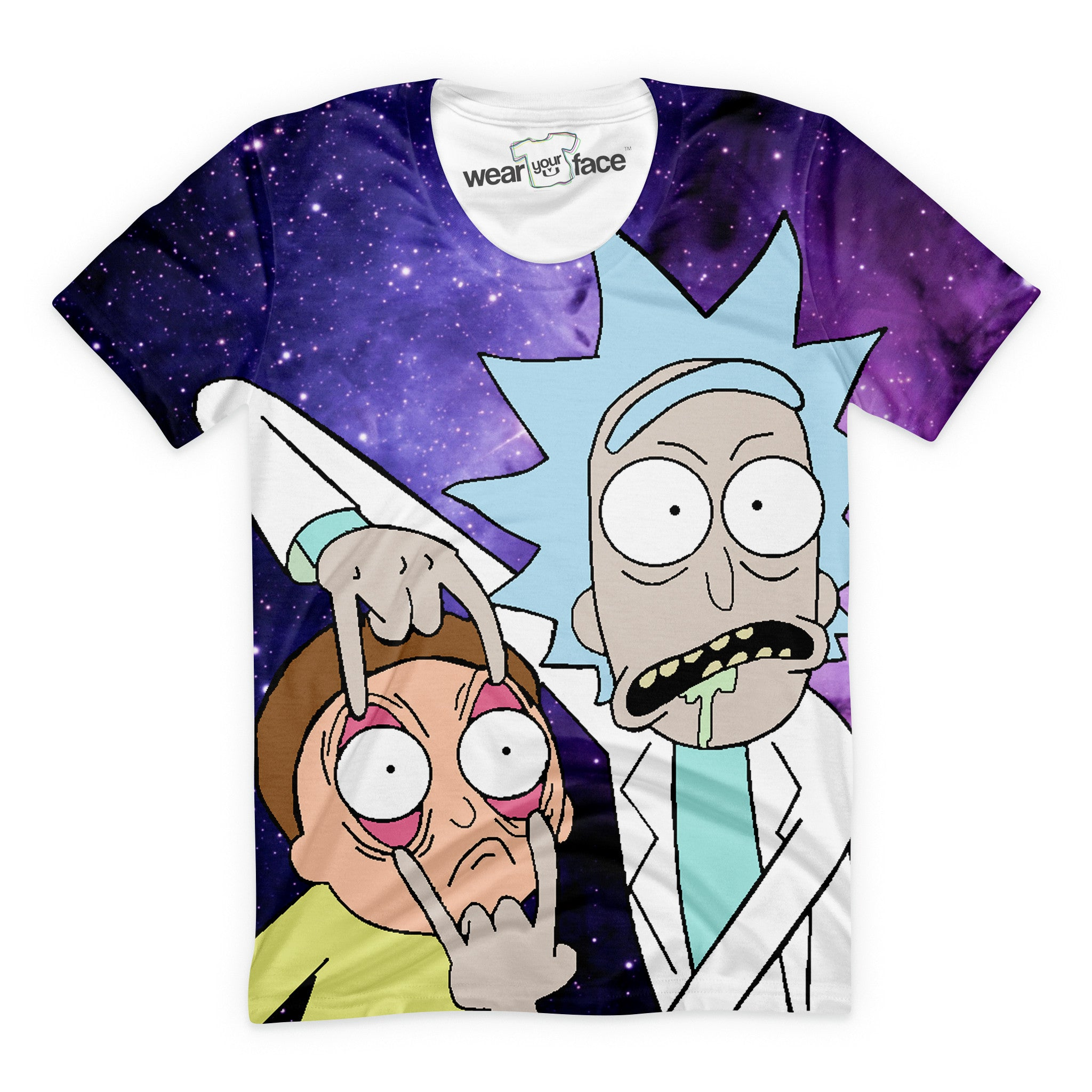 The Rick And Morty Intergalactic T-Shirt