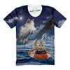 Sinking Ship Cats T-Shirt