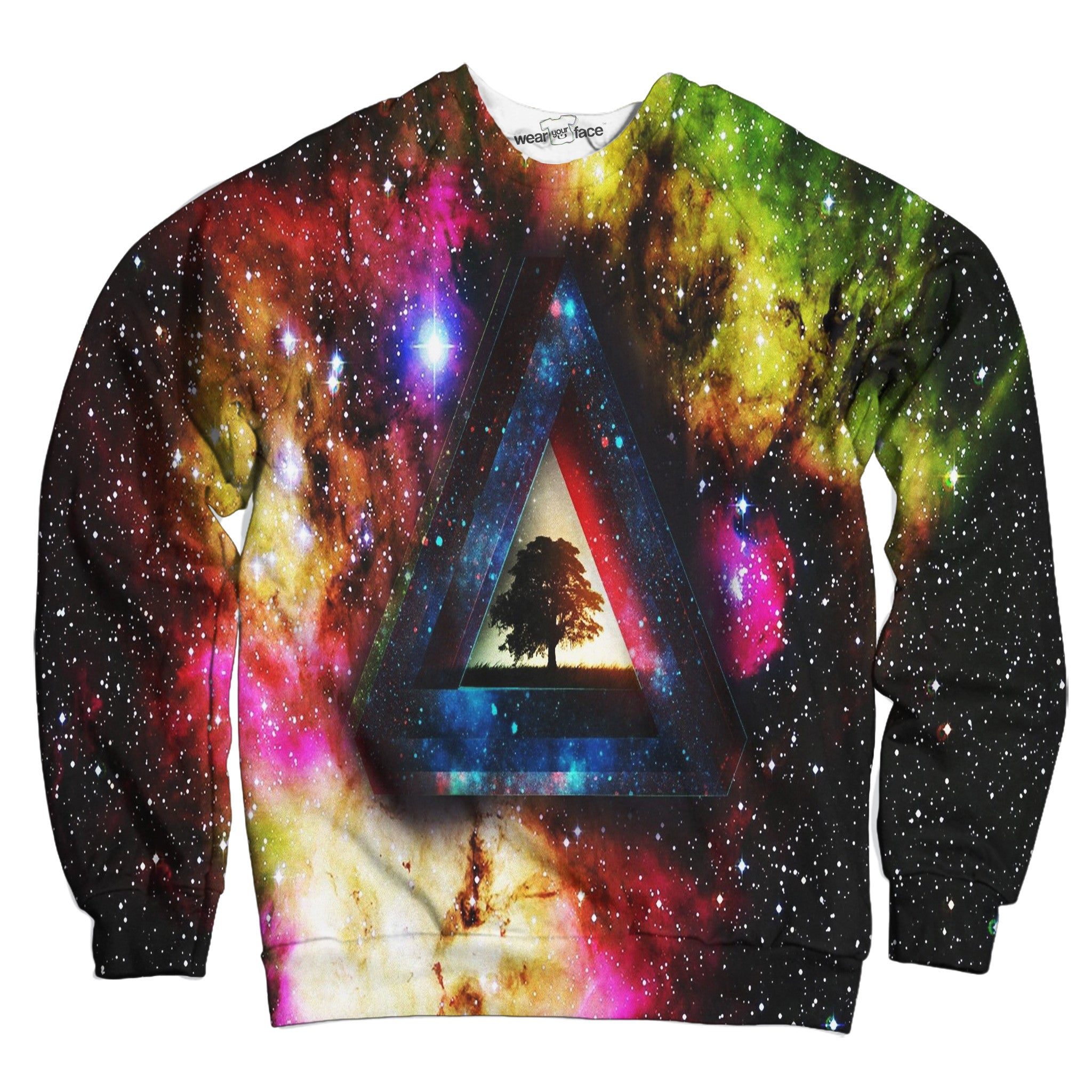 Intergalactic Pyramid Sweatshirt