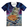 DJ Purrfect Pizza T-Shirt