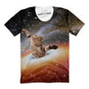 Hug Me Galaxy Cat T-Shirt