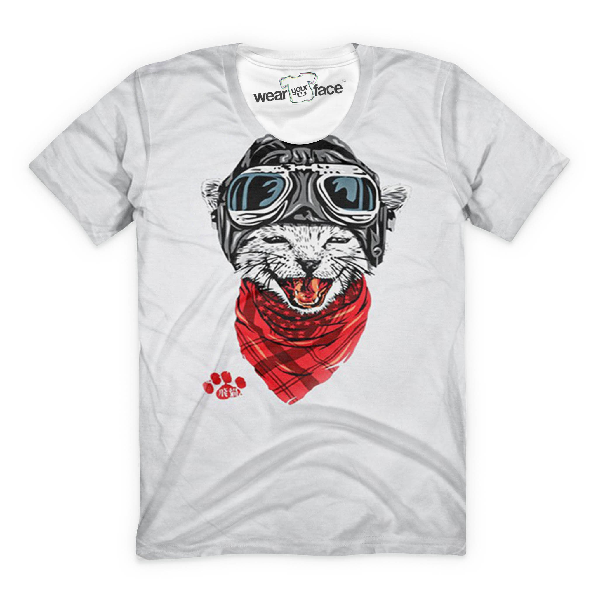 The Kitty Pilot T-Shirt