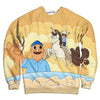 Teddy Watches Tina Ride Unicorn Sweatshirt