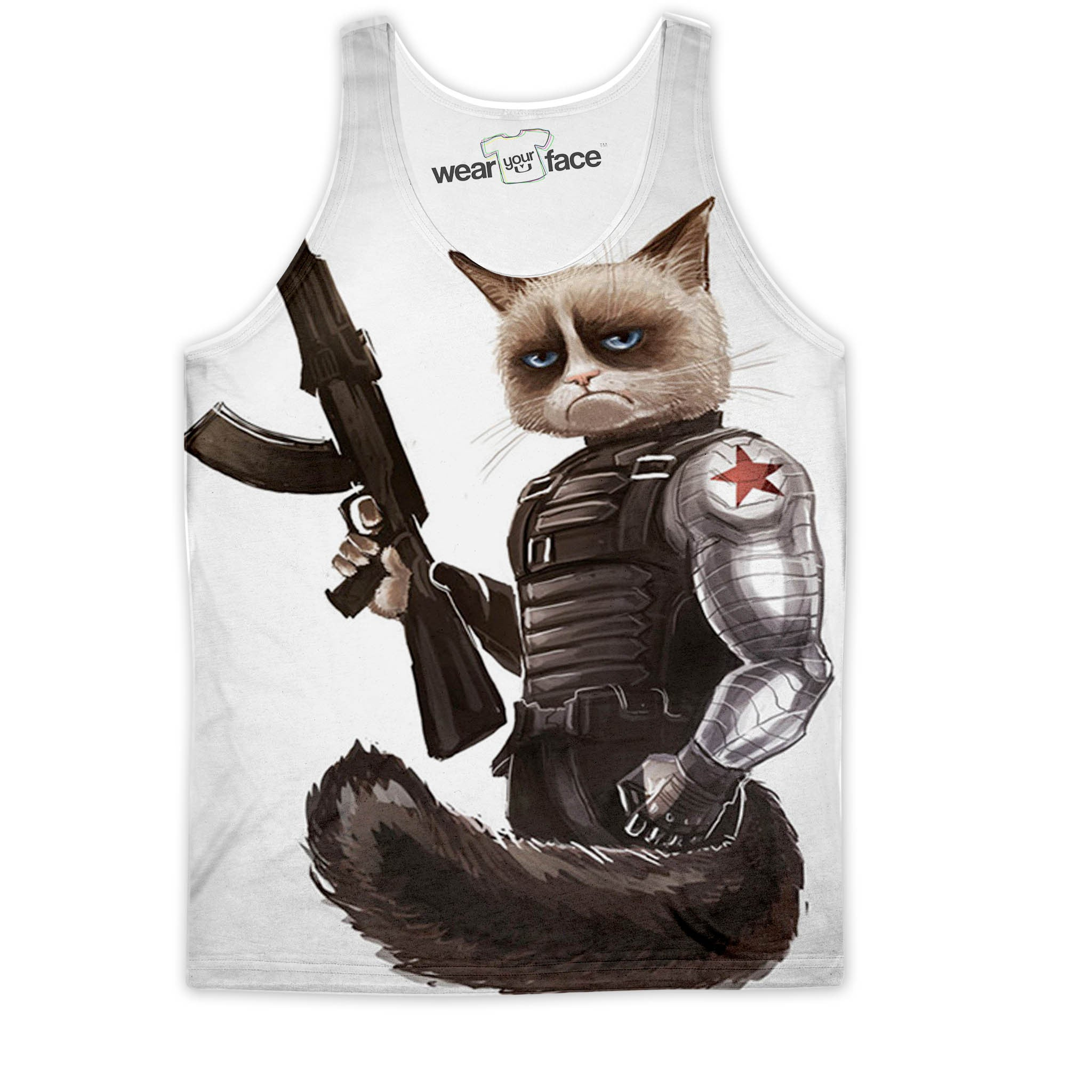 Grumpy Cat Soldier Tank