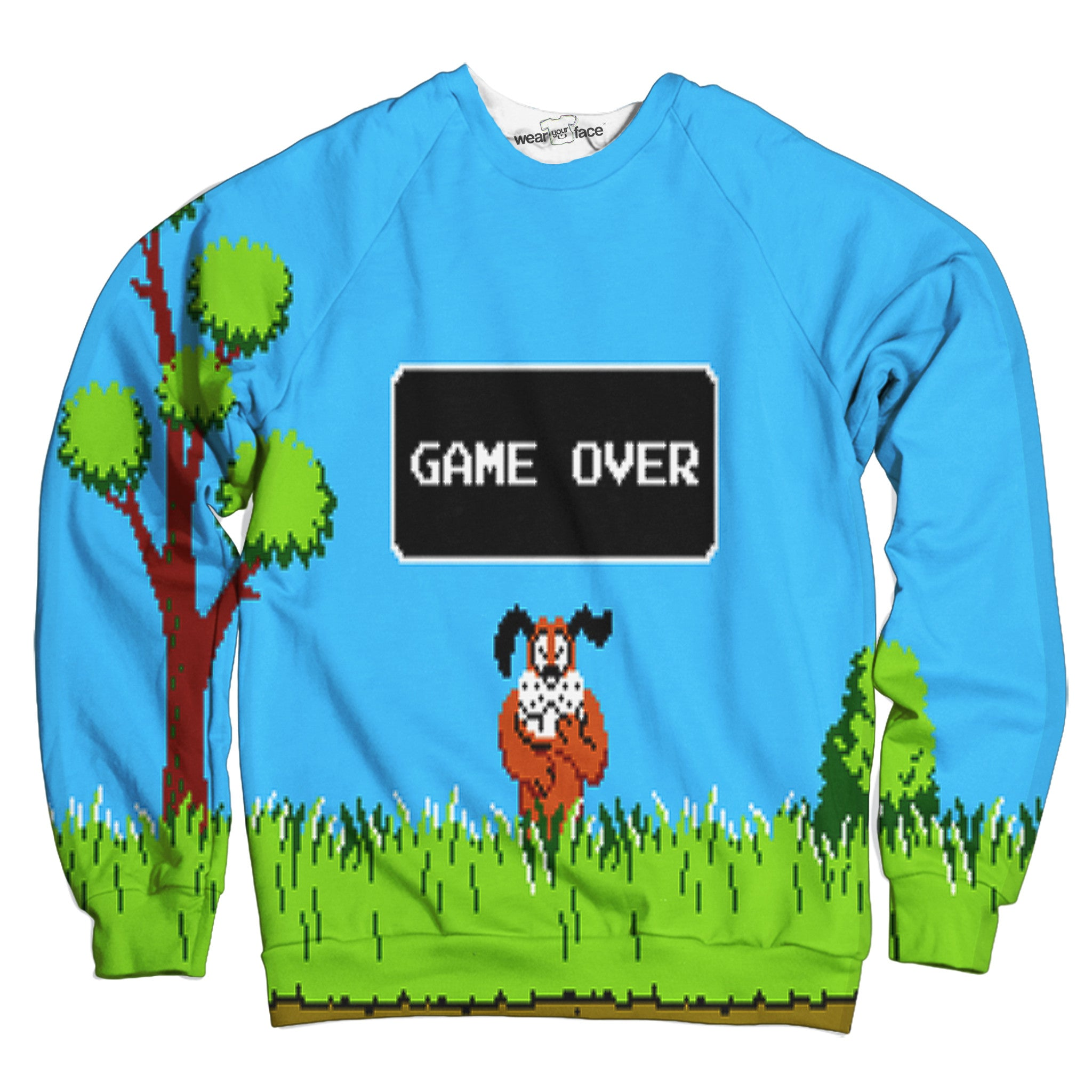 Game Over Duck Hunt Sweatshirt