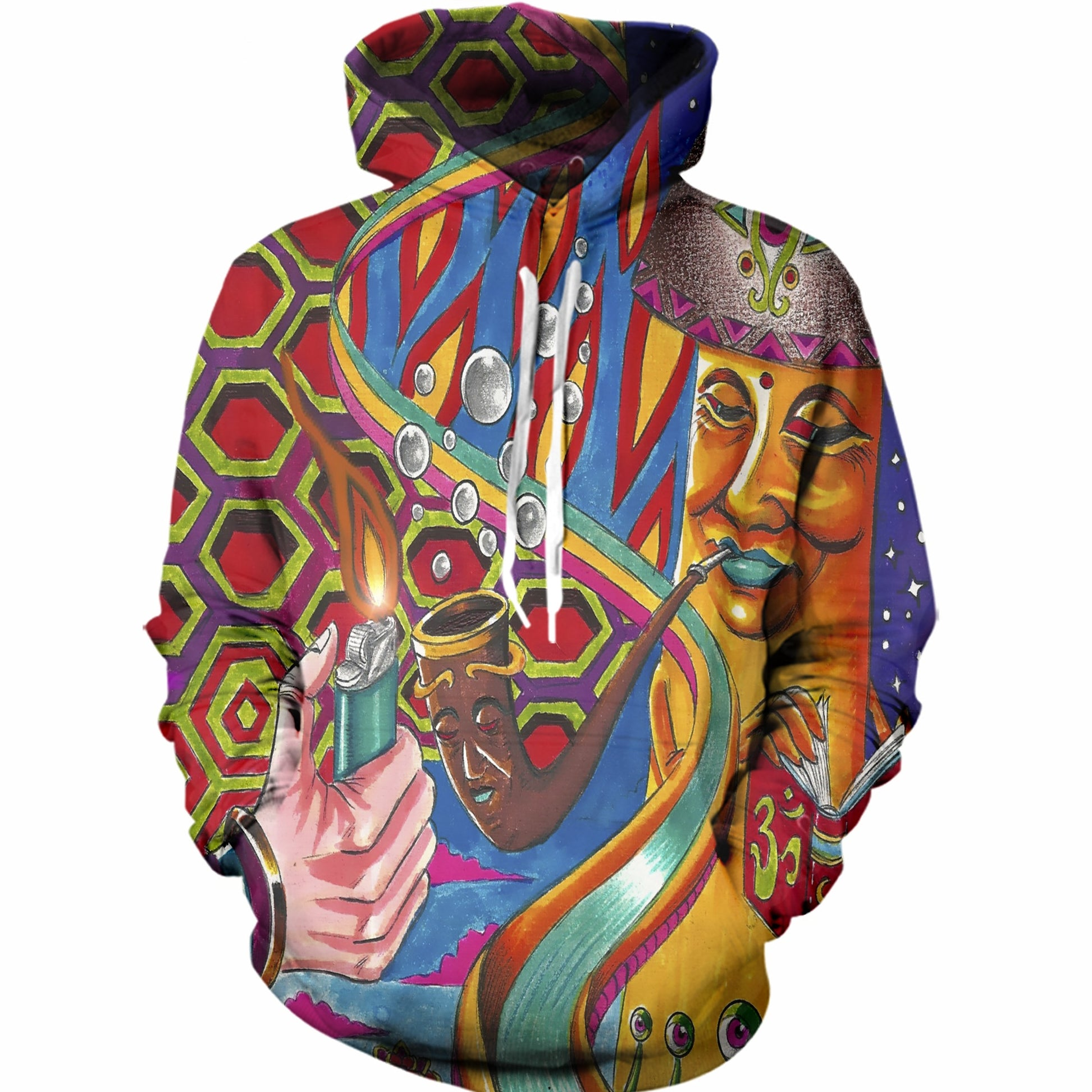 Piped Up Wonderland Hoodie
