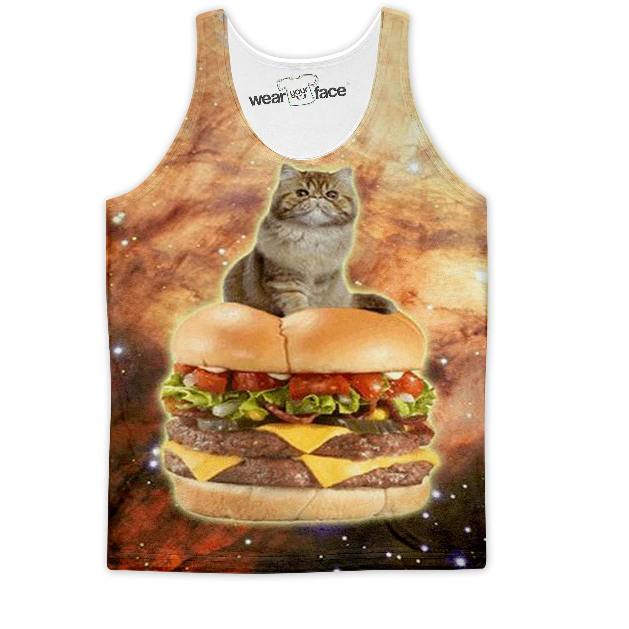 The Cheeseburger Throne  Tank