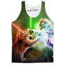 Lightsaber Cat Wars Tank