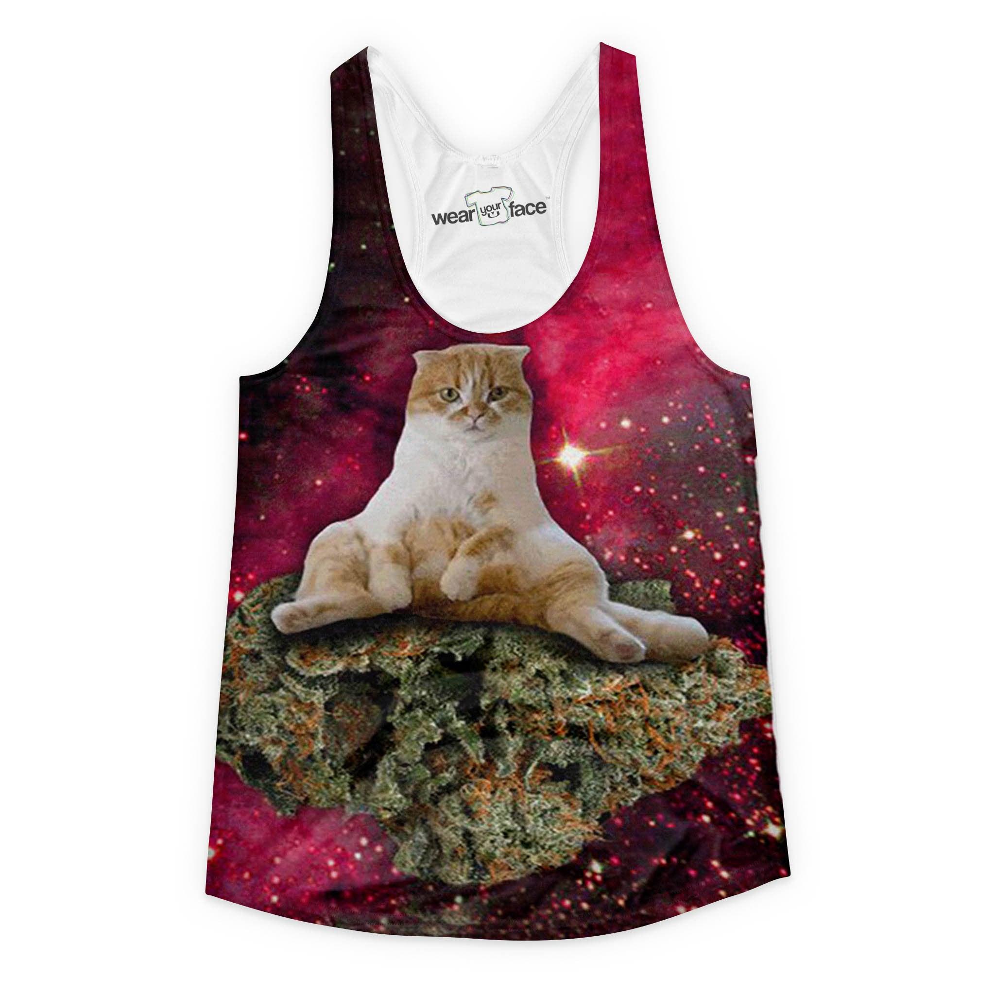 So High Up Cat Girls Tank